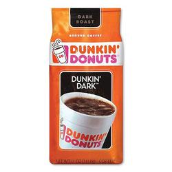 Dunkin' Donuts Original Blend Coffee, Dunkin Dark, 11 oz Bag