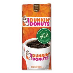 Dunkin' Donuts Original Blend Coffee, Dunkin Decaf, 12 oz Bag