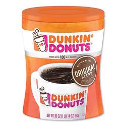 Dunkin' Donuts Original Blend Coffee, Dunkin Original, 30 oz Can
