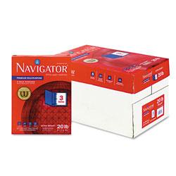 Soporcel Premium Multipurpose Copy Paper, 97 Bright, 3-Hole, 20lb, 8.5 x 11, White, 500 Sheets/Ream, 10 Reams/Carton