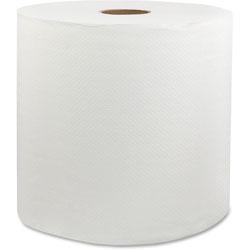 Livi Universal Roll Towel, 1-Ply, 6RL/CT, White