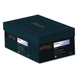 Southworth 25% Cotton Linen #10 Envelope, Commercial Flap, Gummed Closure, 4.13 x 9.5, White, 250/Box