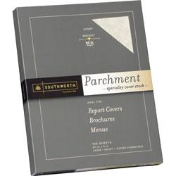 Southworth 65 lb Fine Parchment Paper, Acid/Lignin Free, Ivory