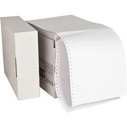 "Sparco Computer Paper, Plain, 20 lb., 9 1/2""x11"", 2300 SH, White"