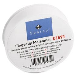 Sparco Fingertip Moistener, Glycerin, 3 in, 1-3/4 oz., 6/PK, Pink