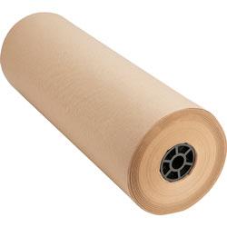 "Sparco Bulk Wrapping Paper, 24""Wx1050', 8 1/2"" Diameter, Kraft"