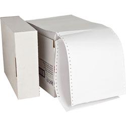 "Sparco Computer Paper, Plain, 20 lb., 9 1/2""x11"", 2550 SH, White"