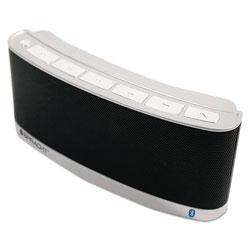 Spracht blunote 2 Portable Wireless Bluetooth Speaker, Black/Silver