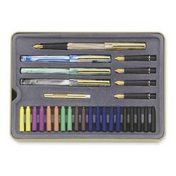 Staedtler Calligraphy Pens Set,Interchangeable Nibs,5/ST,Assorted