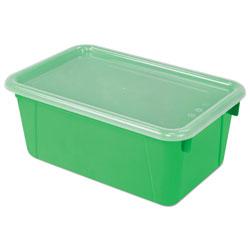 Storex Cubby Bins, 12.25 x 7.75 x 5.13, Green, 6/PK