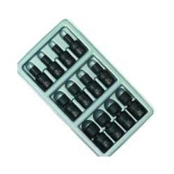 "Sunex 12 Piece 1/4"" Drive Universal Metric Impact Socket Set"