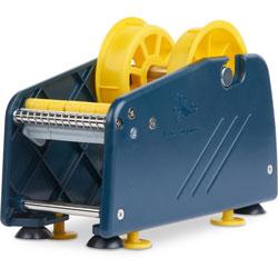 Tatco Mailing Seal Dispenser, 2 Adaptors, Hlds 2 Rolls, 3-1/2 in x 5 in