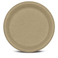 Tellus 10 in Sugarcane Compostable Plate