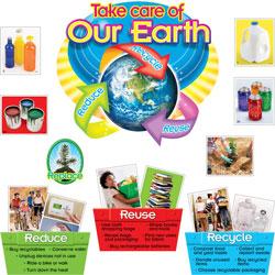 Trend Enterprises Board Set, Reduce Reuse Recycle, 38, MI