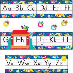 Trend Enterprises Owl-Stars!  inAlphabet Line in Bulletin Board Set, 12 3/4 x 8 1/2, 29 Pieces