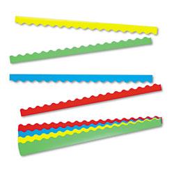 Trend Enterprises Terrific Trimmers Border Variety Pack, 2 1/4 x 39, Assorted Colors, 48/Set