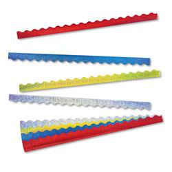 Trend Enterprises Terrific Trimmers Sparkle Border Variety Pack, 2 1/4 x 39 Panels, Asstd, 40/Set