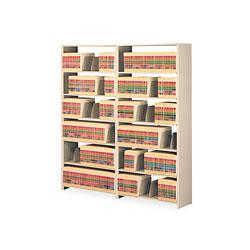 Tennsco Snap-Together Open Shelving Add-On, 48 in x 12 in, 6 Shelves, Beige