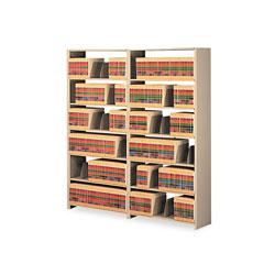 Tennsco Snap-Together Steel Seven-Shelf Closed Starter Set, 48w x 12d x 88h, Sand