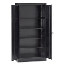 Tennsco 72 in High Standard Cabinet (Assembled), 36 x 18 x 72, Black