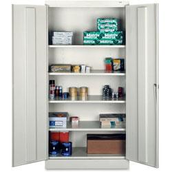 Tennsco Standard Storage Cabinet, 36 inx18 inx72 in, Gray