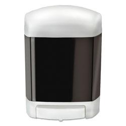 TOLCO Clear Choice Bulk Soap Dispenser, 50 oz, 4 in x 6.63 in x 9 in, White