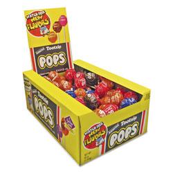 Tootsie Roll® Tootsie Pops, 0.6 oz, Assorted Flavors, 100/Box