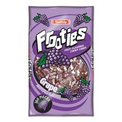 Tootsie Roll® Frooties, Grape, 38.8 oz Bag, 360 Pieces/Bag