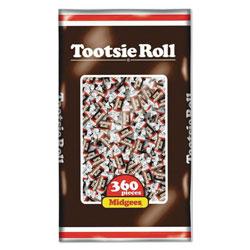 Tootsie Roll® Midgees, Original, 38.8 oz Bag, 360 Pieces