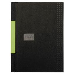 Oxford Idea Collective Professional Casebound Hardcover Notebook, 8 1/4 x 11 3/4, Black