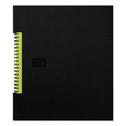 Oxford Idea Collective Professional Wirebound Hardcover Notebook, 8 1/2 x 11, Black