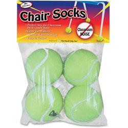 The Pencil Grip Set, Chair Socks, Pre-Cut, 4 inWx4 inLx4 inH, YW
