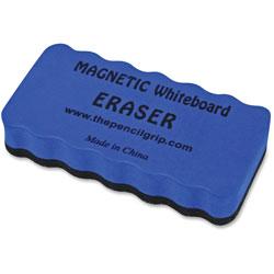 The Pencil Grip WB Eraser, Magnetic, 2 inWx3/4 inLx4 inH, BEBK