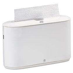 Tork Countertop Towel Dispenser, White, Plastic, 14.76 in x 6.69 in x 10.43 in