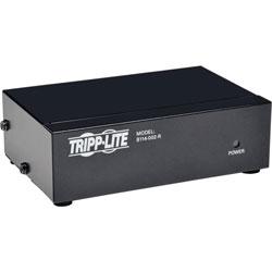 Tripp Lite VGA Video 2-Port Splitter, HD15, Black