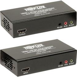 Tripp Lite Extender Kit, HDMI Over Cat5/6, 6-1/5 inWx11-3/10 inL2 inH, Black