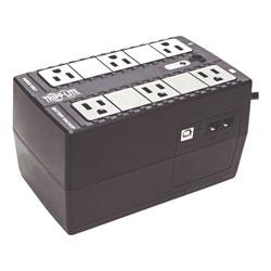 Tripp Lite Internet Office Ultra-Compact Desktop Standby UPS, USB, 6 Outlets, 350 VA, 380 J