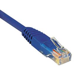 Tripp Lite Cat5e 350MHz Molded Patch Cable, RJ45 (M/M), 100 ft., Blue