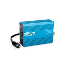 Tripp Lite PowerVerter Ultra-Compact Car Inverter, 375W, 12V Input/120V Output, 2 Outlets