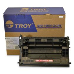 Troy 282040001 37A MICR Toner Secure, Alternative for HP CF237A, Black