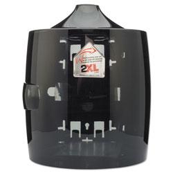2XL Contemporary Wall Mount Wipe Dispenser, Smoke Gray