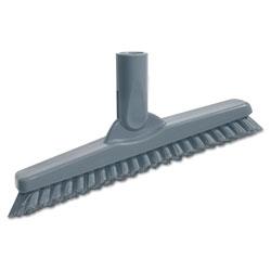 Unger SmartColor Swivel Corner Brush, 8 2/3 in, Gray Handle