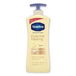 Vaseline® Intensive Care Essential Healing Body Lotion, 20.3 oz, Pump Bottle, 4/Carton