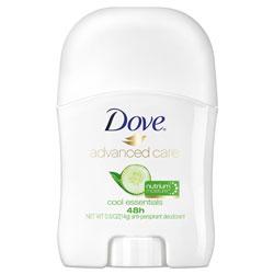 Unilever Invisible Solid Antiperspirant Deodorant, Floral Scent, 0.5 oz, 36/Carton