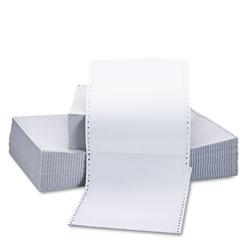 Universal Office Products Printout Paper, 2-Part, 15lb, 9.5 x 11, White, 1, 650/Carton