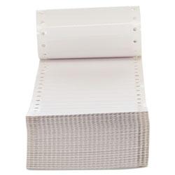 Universal Office Products Dot Matrix Printer Labels, Dot Matrix Printers, 0.44 x 3.5, White, 5,000/Box