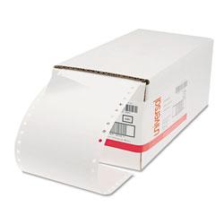 Universal Office Products Dot Matrix Printer Labels, Dot Matrix Printers, 1.44 x 4, White, 5,000/Box