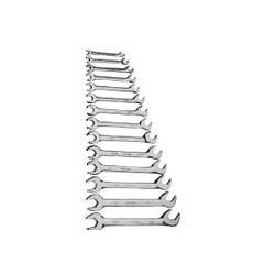 "V-8 Tools 14 Piece 3/8"" to 1 1/4"" Angle Head Wrench Set"