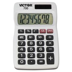 Victor 700 Pocket Calculator, 8-Digit LCD