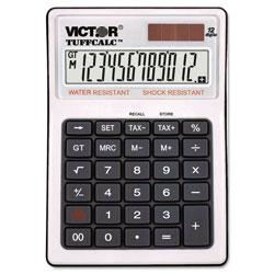 Victor TUFFCALC Desktop Calculator, 12-Digit LCD